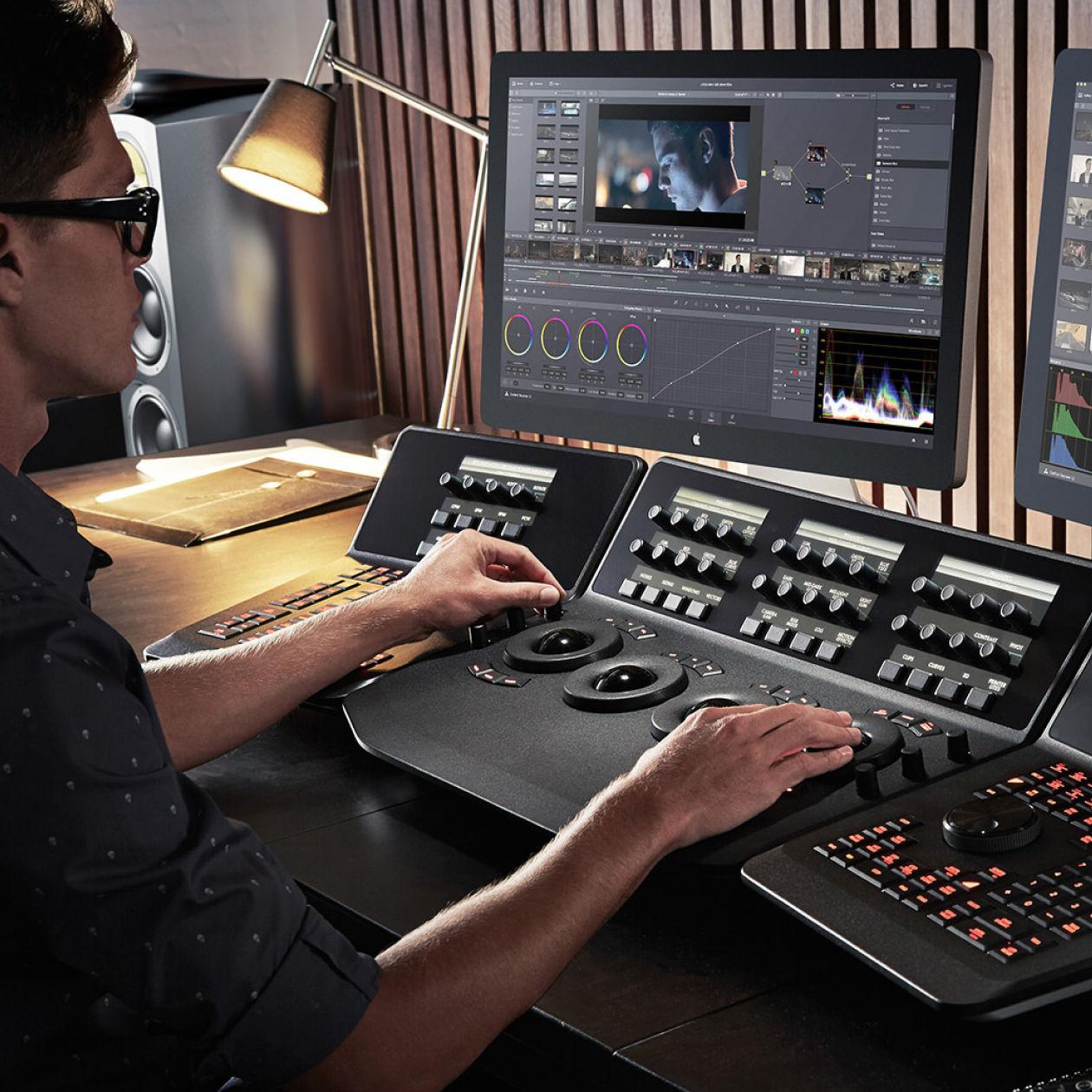 Услуга обработки видеоматериала в студии