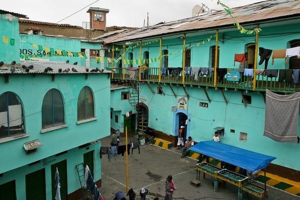 Тюрьма Сан-Педро в Боливии